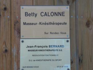 CALONNE Betty, masseur kinésithérapeute