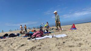 Les accueils de loisirs à la plage