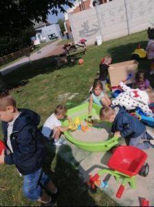 Les petits au Jardin des Petits Princes