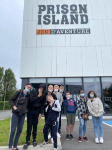 Le CAJ à Prison Island