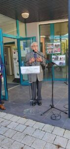 Inauguration de l'espace Raymond Queva